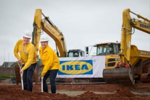 IKEA announces opening date for newExeter Store for 1st May 2018