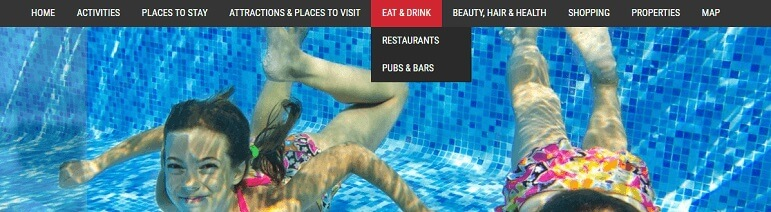 Drop Down menus Advertise with us What's on in Devon